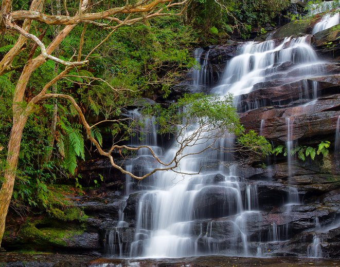 Somersby Falls, Gosford, Central Coast NSW.