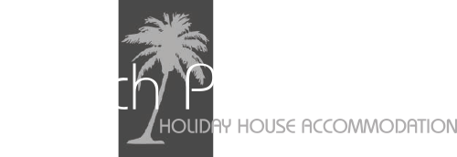 Beach Paradise Villa Holiday House Accommodation logo.